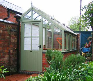 a x three quarter span greenhouse