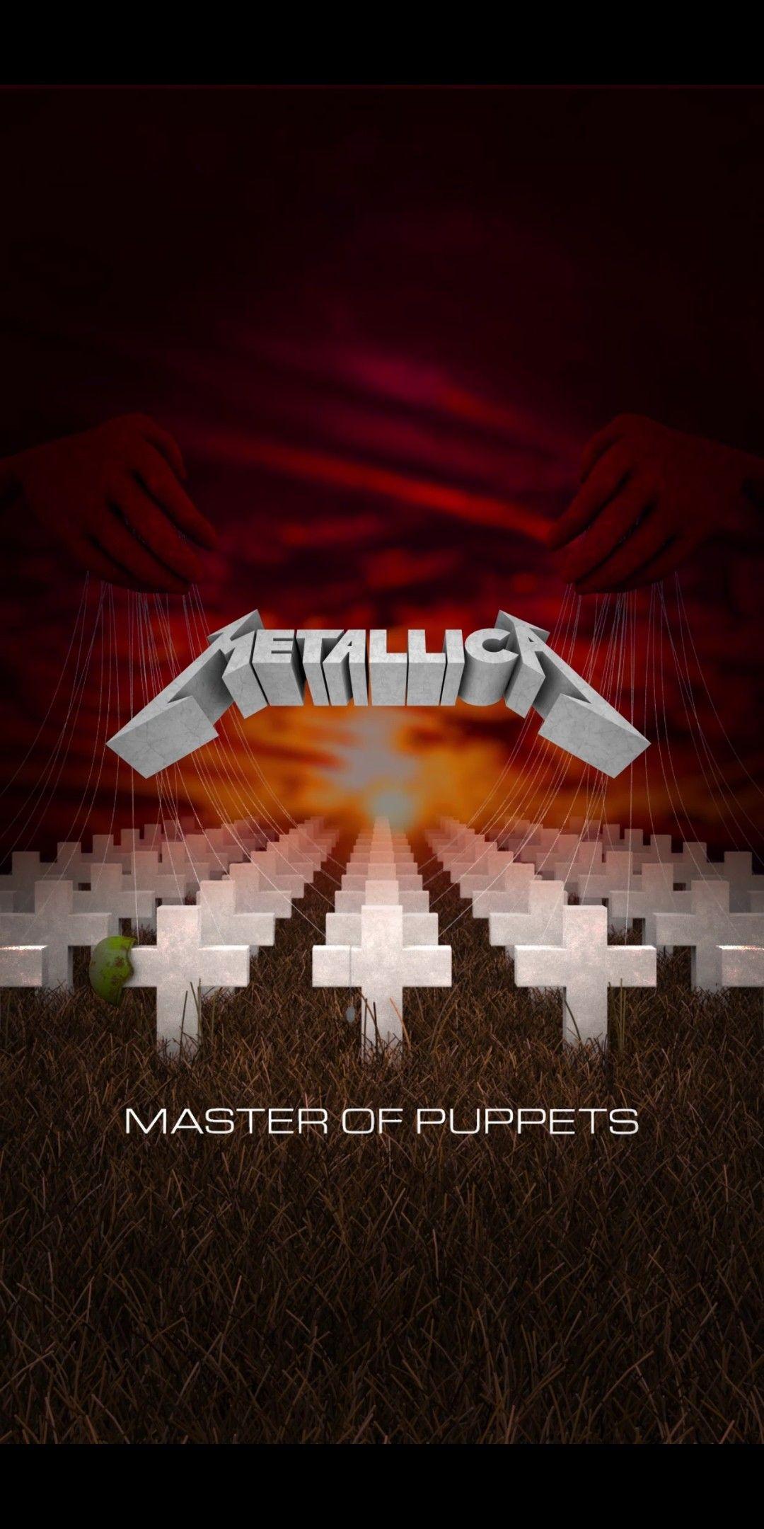 Metallica Master Of Puppets Wallpaper Iphone Metallica Album