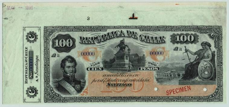 World Banknotes Chile In 2020 Chile Bank Notes La Union