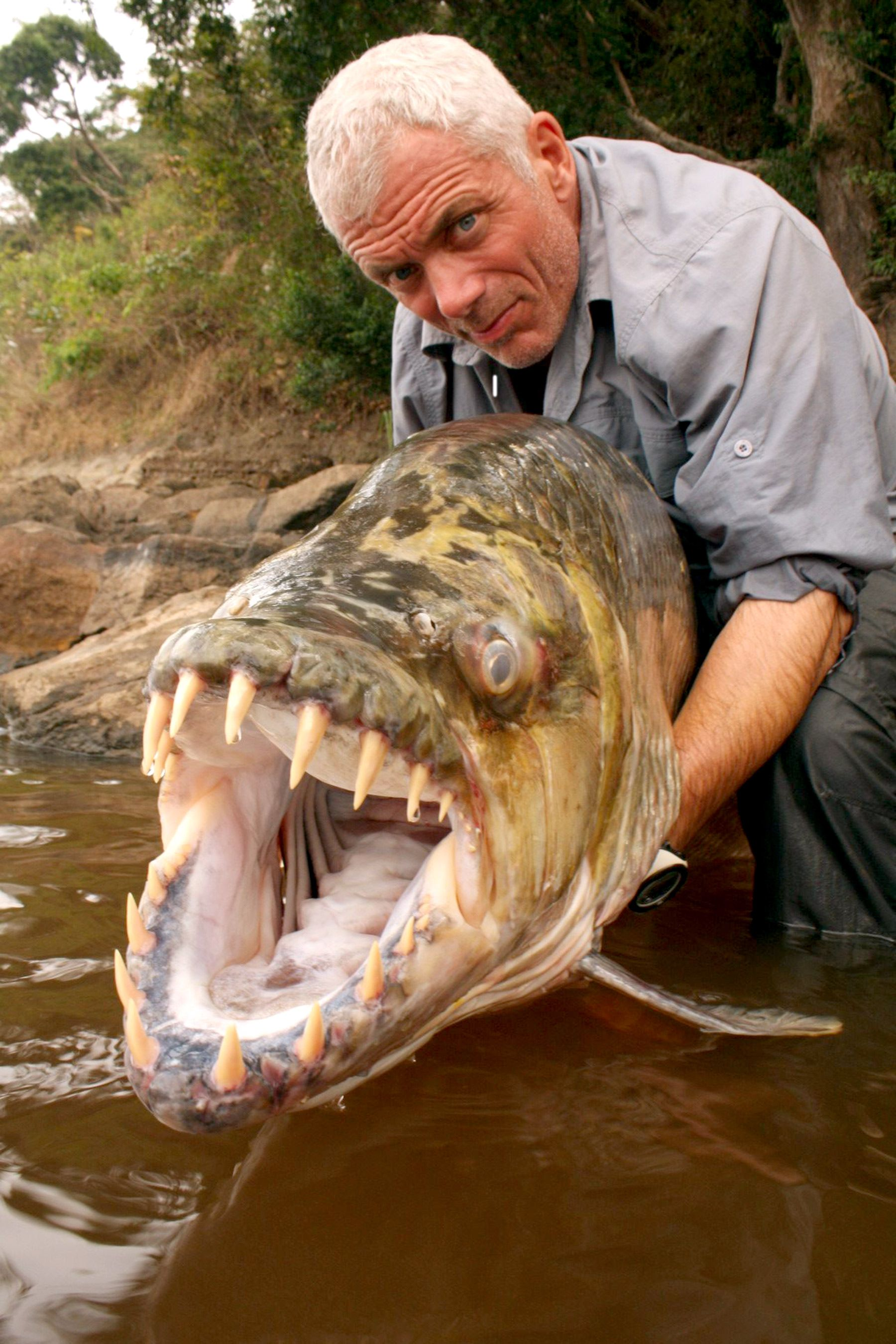 river monsters host shares his 5 closest brushes with death