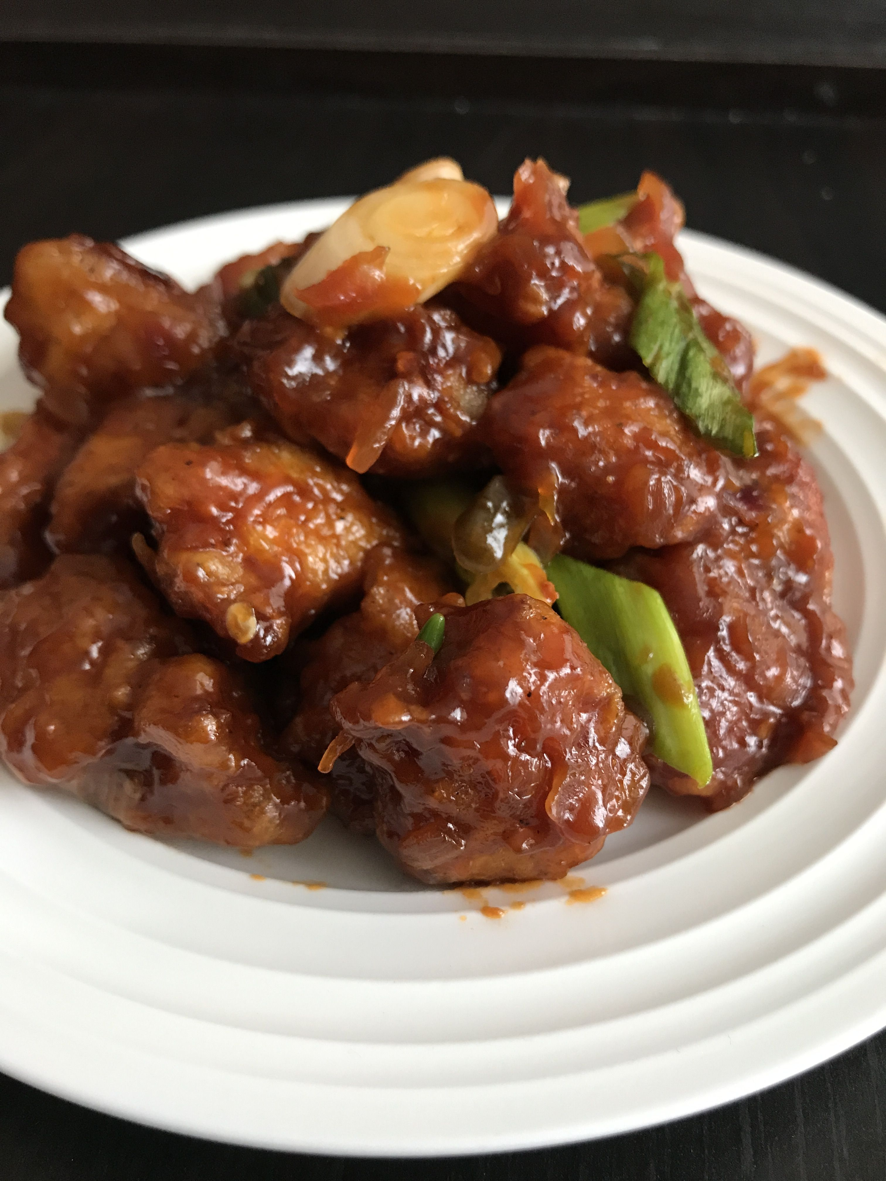 Manchurian Chicken | Food, Sweet and sour pork, Easy dinner