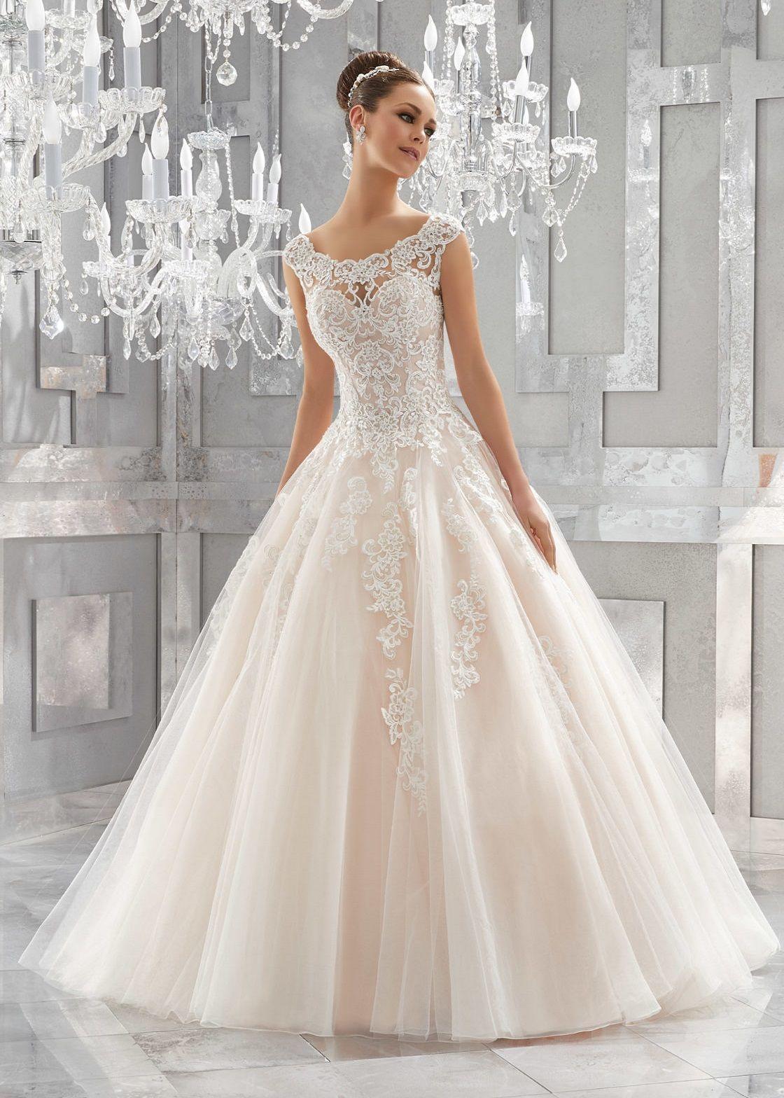 Confetti & Lace | Mori Lee | 5573-MASSIMA | Wedding Gown | Pinterest ...
