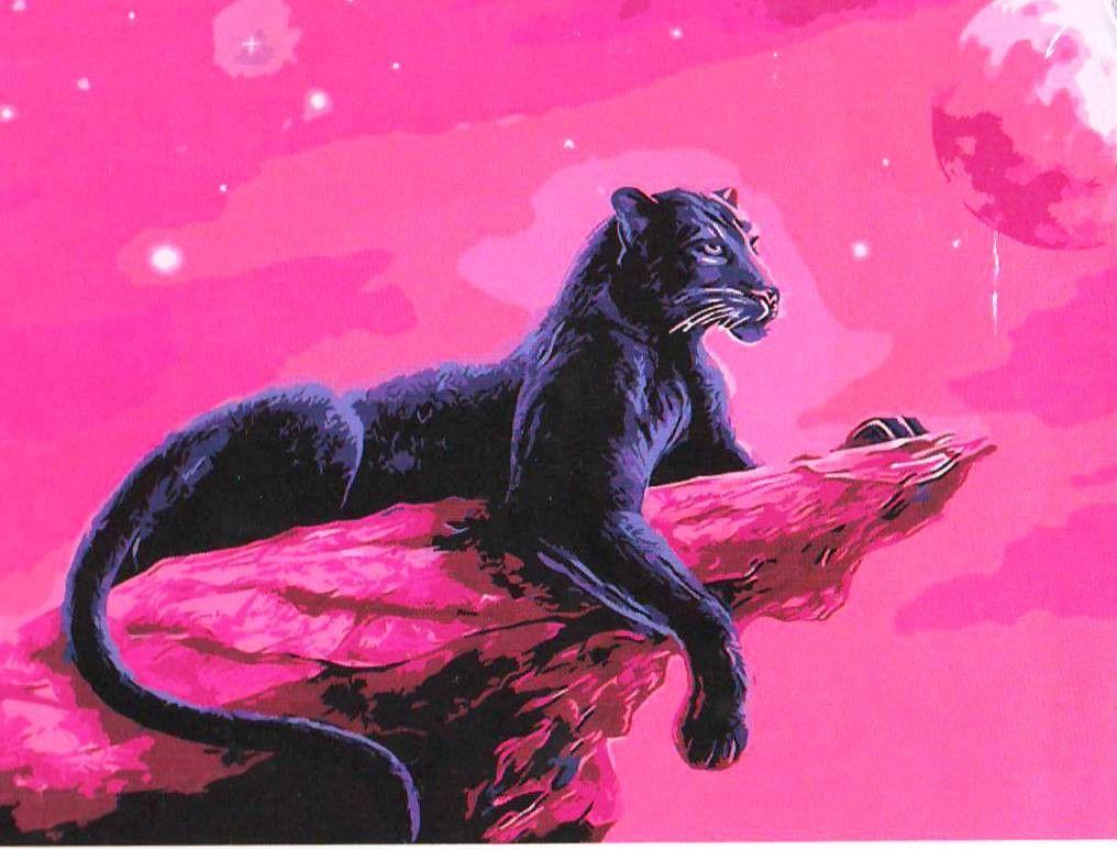 картина по номерам пантера - Поиск в Google | Картины, Пантера