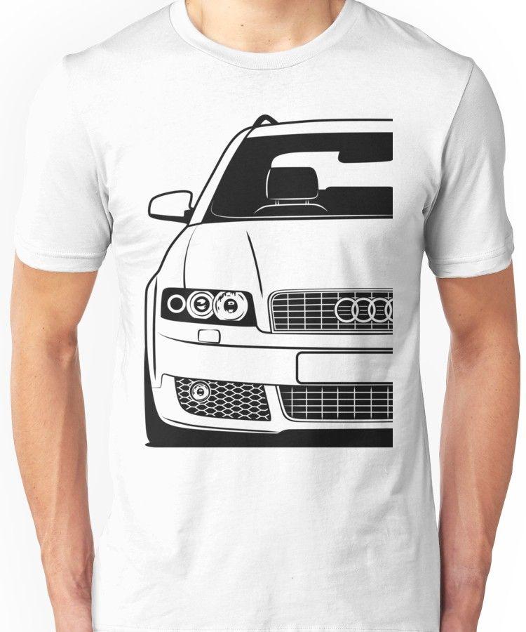 'Audi A4 S-Line Avant Custom Design' T-Shirt By CarWorld