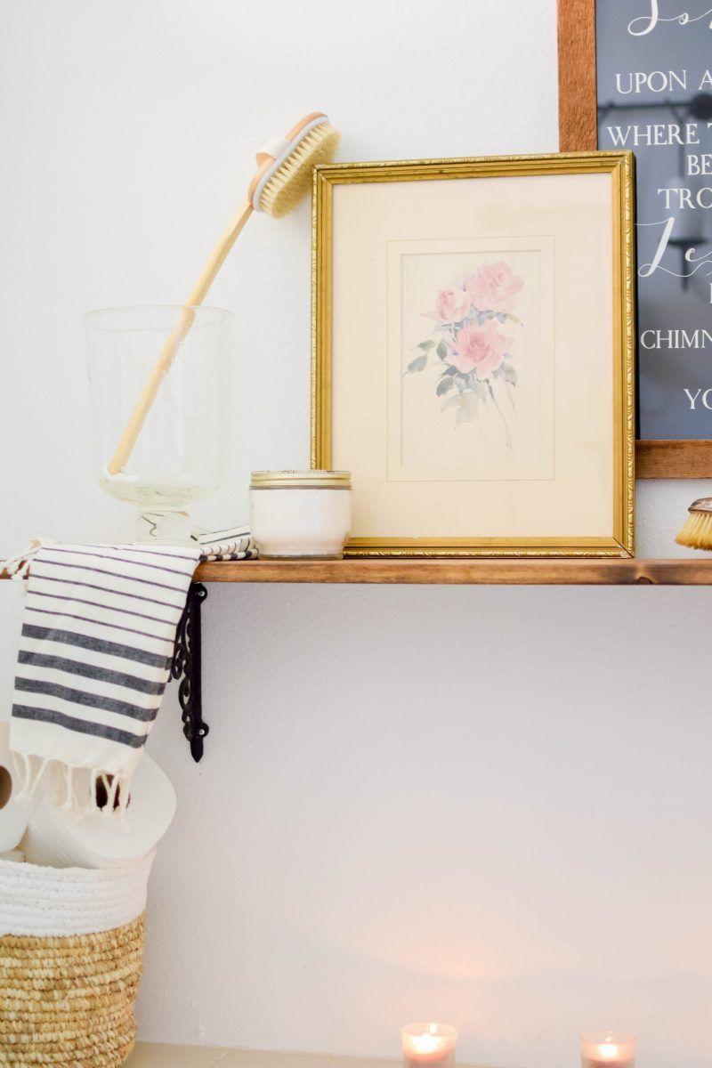 Budget Decorating - Dressing up the Bathroom | DIY~Crafts ...