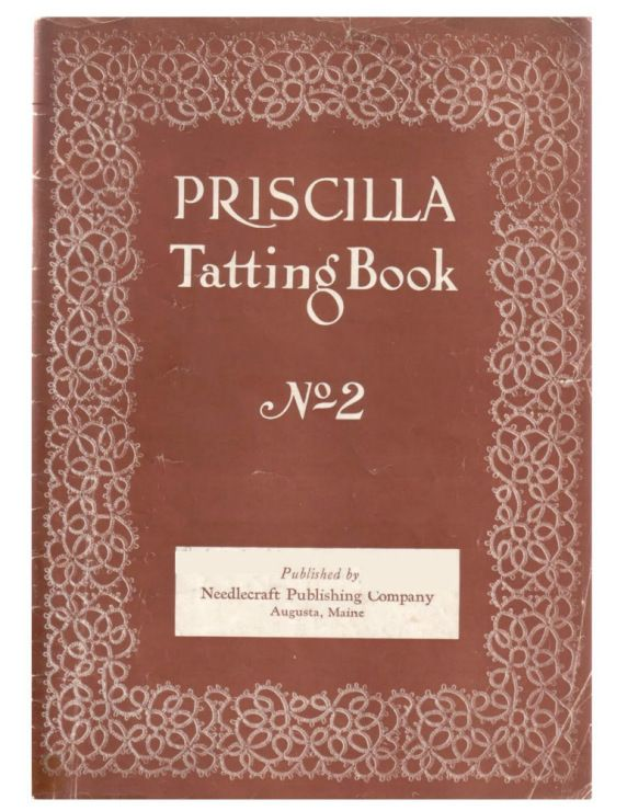 Priscilla Crochet Vintage Doily /& Linen Patterns c.1925