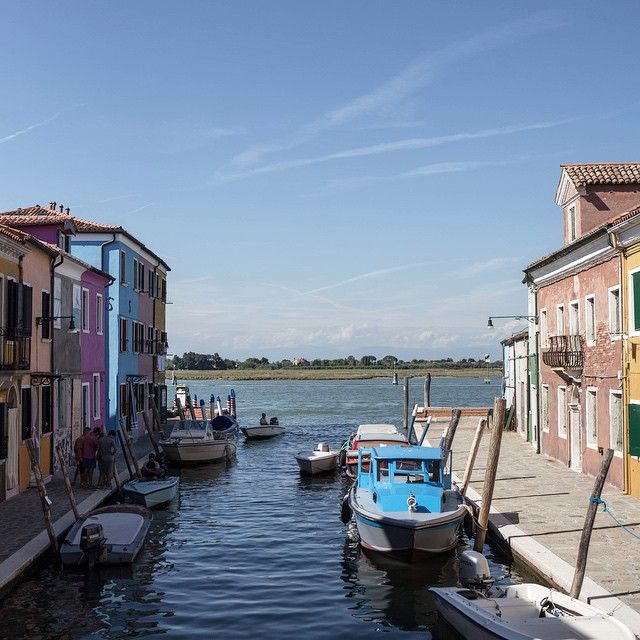 """Island hopping from Torcello to Burano. I always feel so inspired by the bright colours here, the faded texture of the old walls and the endless views out on to the lagoon. Stopping off at the bakery to buy some 'buranelli' (butter biscuits), a local speciality that I just can't resist! @skye_mcalpine #cnttakeover #secretvenice"" Photo taken by @cntraveler on Instagram, pinned via the InstaPin iOS App! http://www.instapinapp.com (05/31/2015)"
