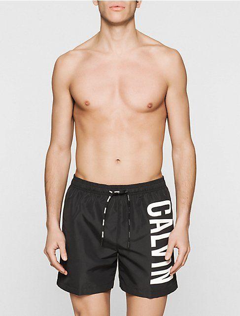 e181316d82 Image for intense power medium drawstring swim shorts from Calvin Klein