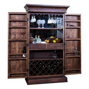 Etonnant Savannah Bar Armoire In Antique Charcoal | Nebraska Furniture Mart
