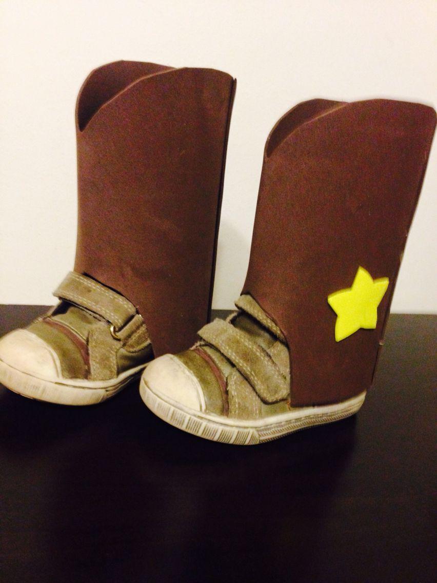 botas fieltro disfraz cowboy superhero  d60287fb601