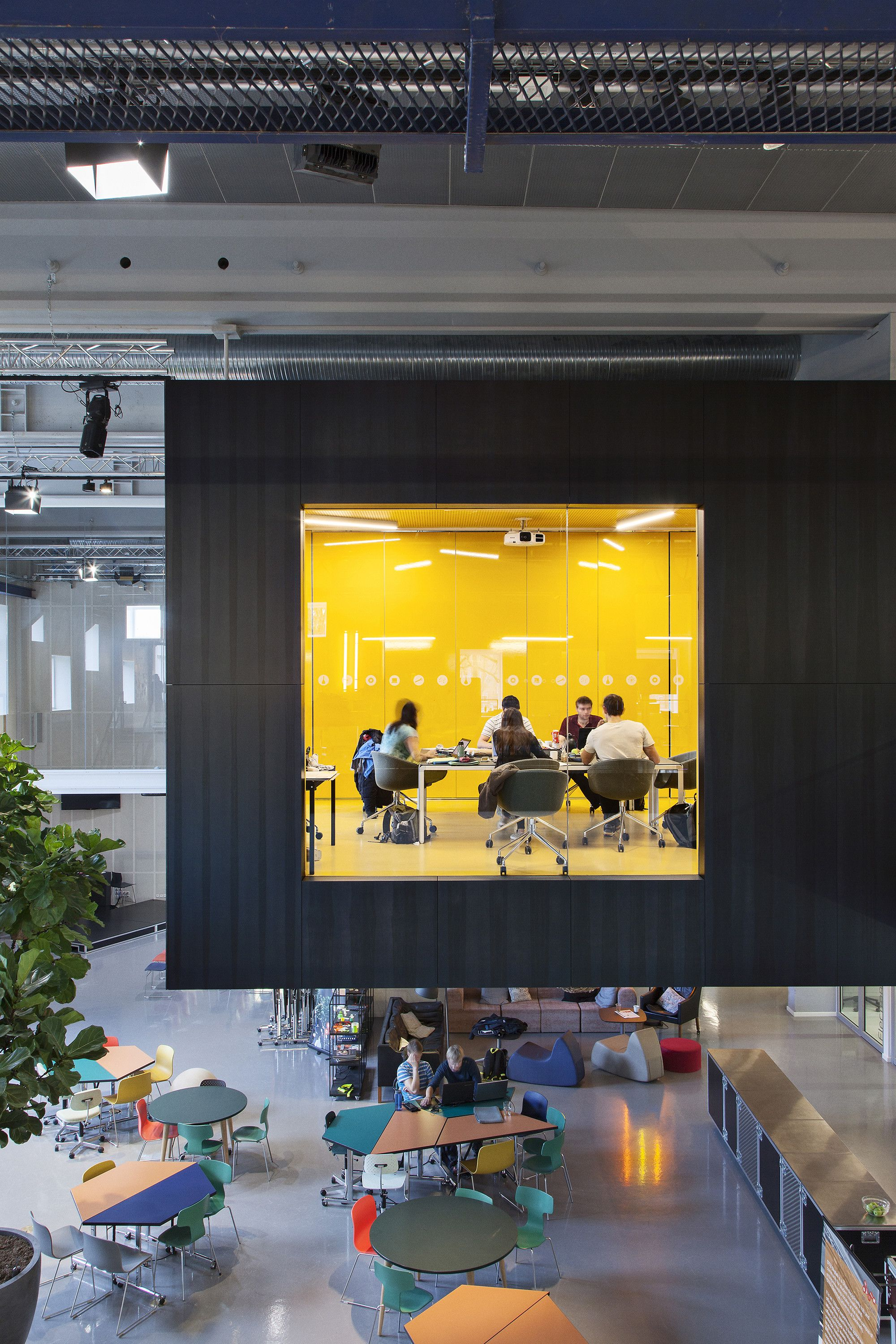 High Quality Image 1 Of 11 From Gallery Of DTU Skylab / Juul Frost Arkitekter.  Photograph By STAMERS KONTOR