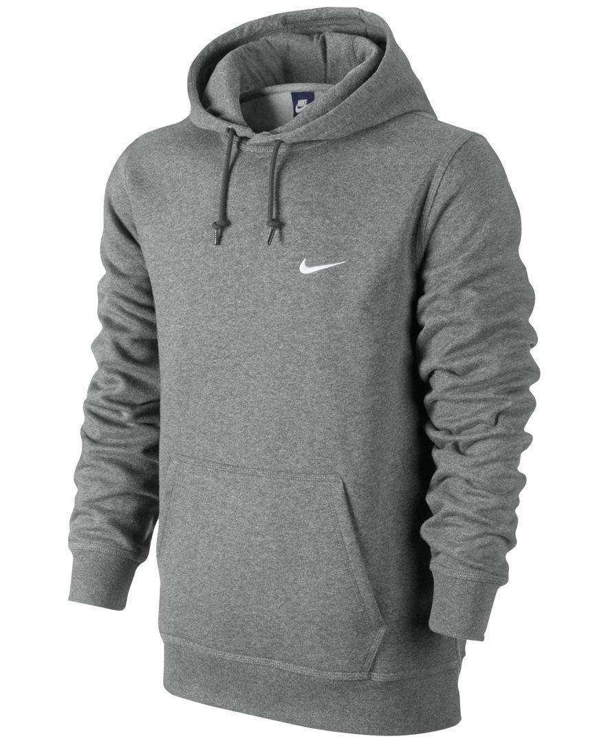 Nike Men\u0027s Classic Fleece Hoodie - Hoodies \u0026 Sweatshirts - Men - Macy\u0027s