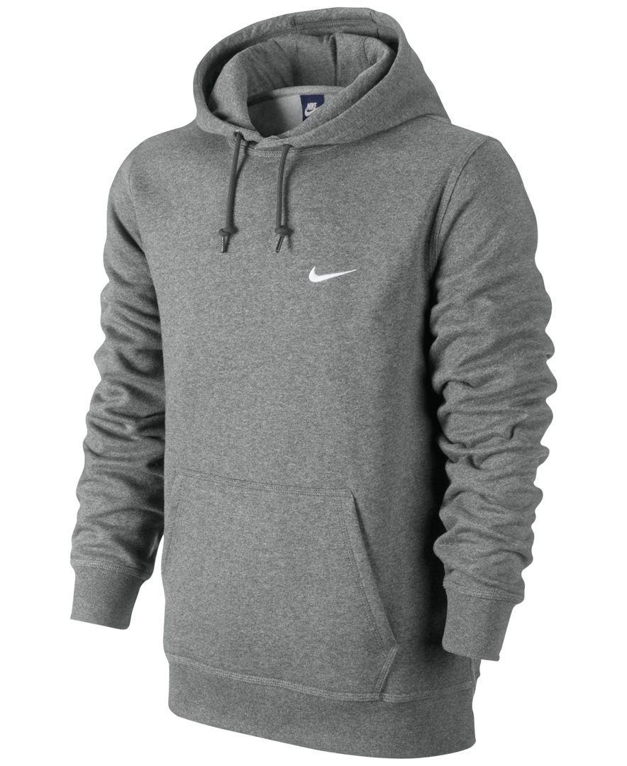 Nike Men's Classic Fleece Hoodie Hoodies & Sweatshirts