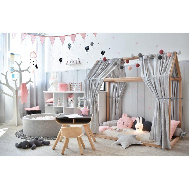 """Photo of Dinki Balloon Musselin Stoffhimmel für Hausbett 70x140cm """"Sterne"""" senfgelb bei Fantasyroom online kaufen"""