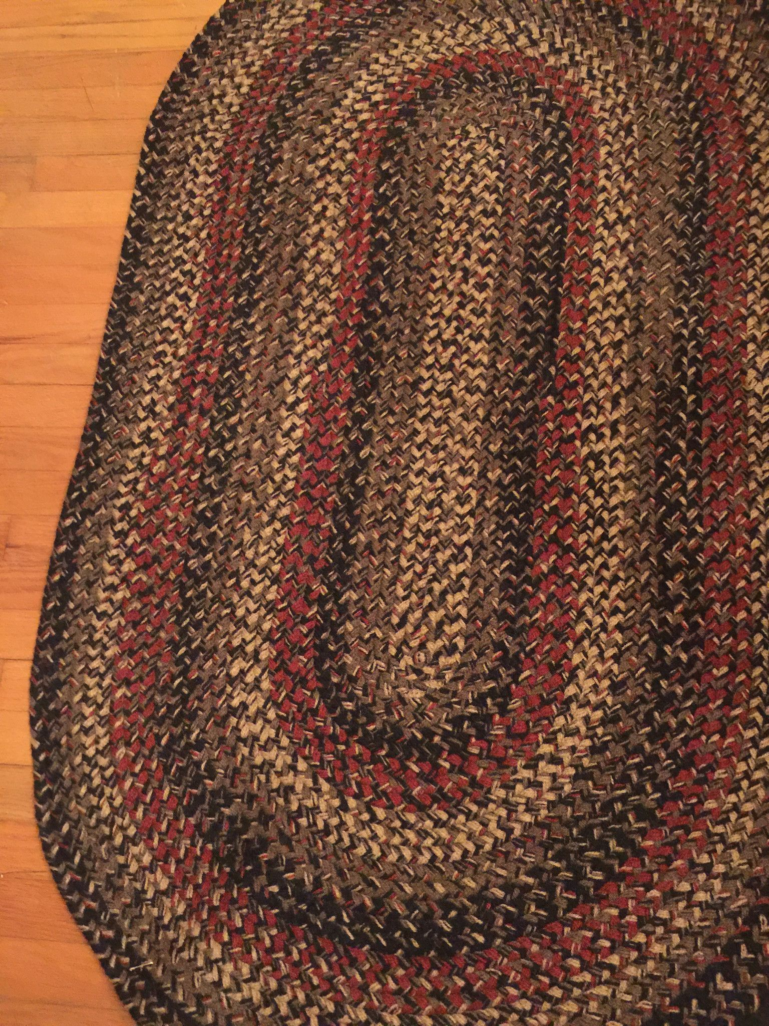 Made In North Carolina By The Colonial Braided Rug Co Braidedrugs Braided Rugs Braided Wool Rug Colorful Rugs