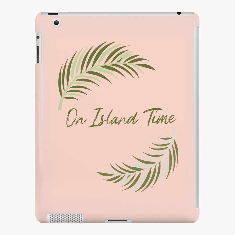 #onislandtime #tropicalipadcase #pinkipadcase #ipadsnapcase #beachipadcase #ipadcasehawaii