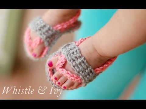 By Nilly Style Häkeln Baby Schuhe & Baby Shoes Crochet - YouTube ...