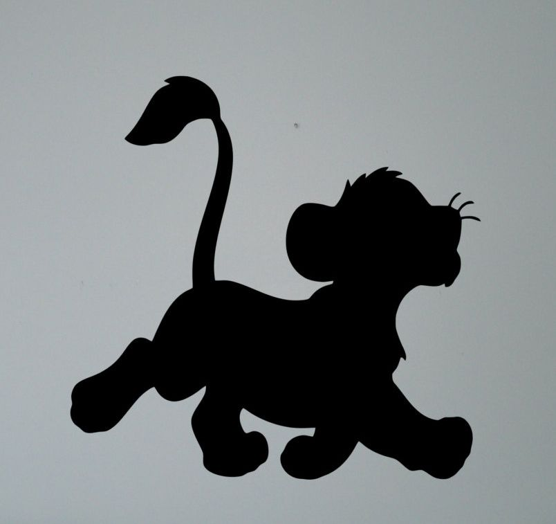 Simba Silhouette Gallery Lion King Drawings Disney Silhouette Art Lion King Art