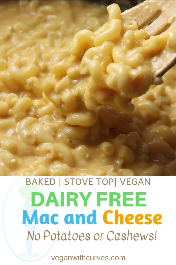 The Best Dairy Free Mac And Cheese Vegan Plus Gluten Free Video Recipe Video Dairy Free Mac And Cheese Vegan Soul Food Gluten Free Mac And Cheese