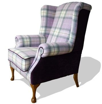 Charming The Highlander Tartan Armchair: Upholstered By Feather U0026 Weave, Custom Made  In Your Choice Of Fabric: Delivered Throughout Ireland U0026 UK