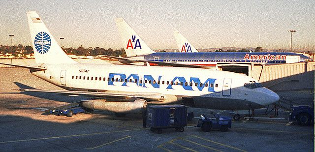 Pan Am 737 Flying With Cargo Aircraft Major Airlines Airplane