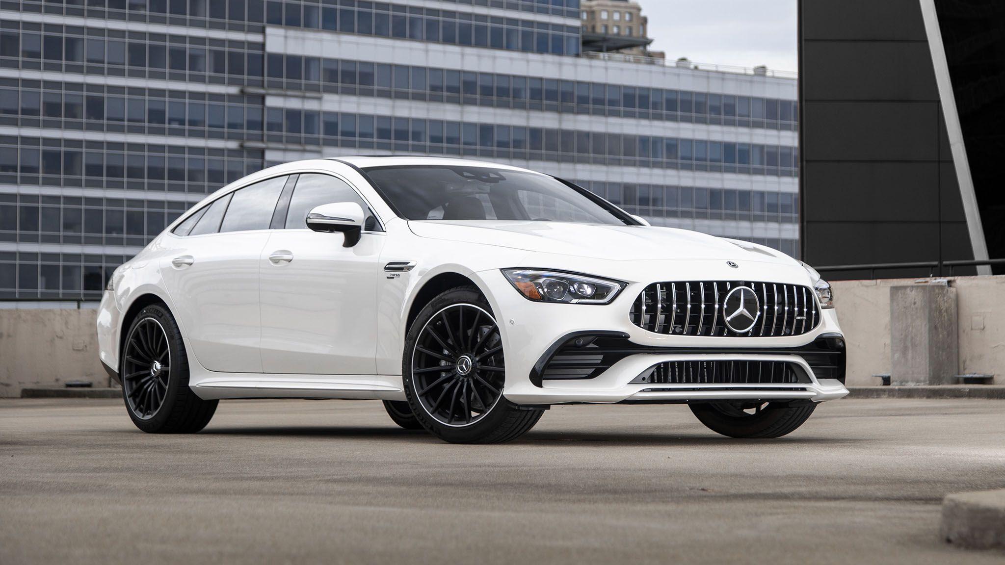 2021 Mercedes Amg Gt 43 4 Door Is The Budget Amg Sedan In 2020 Mercedes Amg Amg Mercedes
