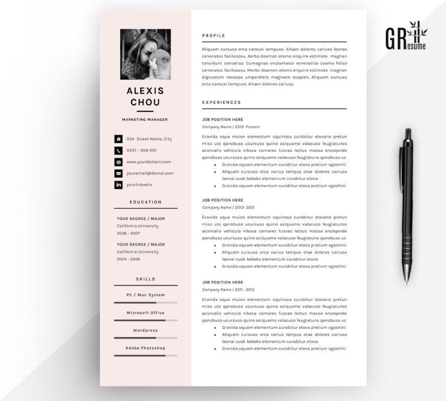 Alexis chou resume template resume template templates
