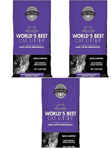 Worlds Best Cat Litter Long Lasting Performance Multiple Cat Clumping Formula