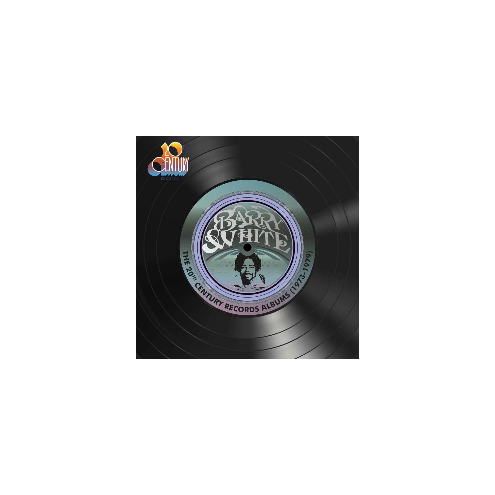 Barry White 20th Century Records Albums 1973 1979 Vinyl