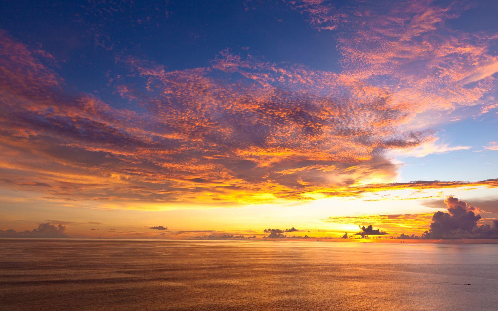 horizontal Bali sunset, Sunset wallpaper, Bali island