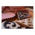 Gingerbread Hearts Valentine's Day card  Gingerbread Hearts Valentine's Day card  $3.50  by ThisHouseofGinger  . More Designs http://bit.ly/2g9LYfi #zazzle