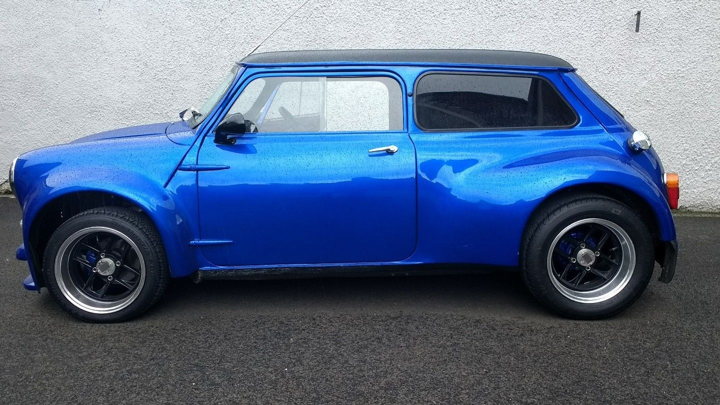 1963 Classic Mini Mk1 Custom Chop Wide Body Kit Signed By Paddy