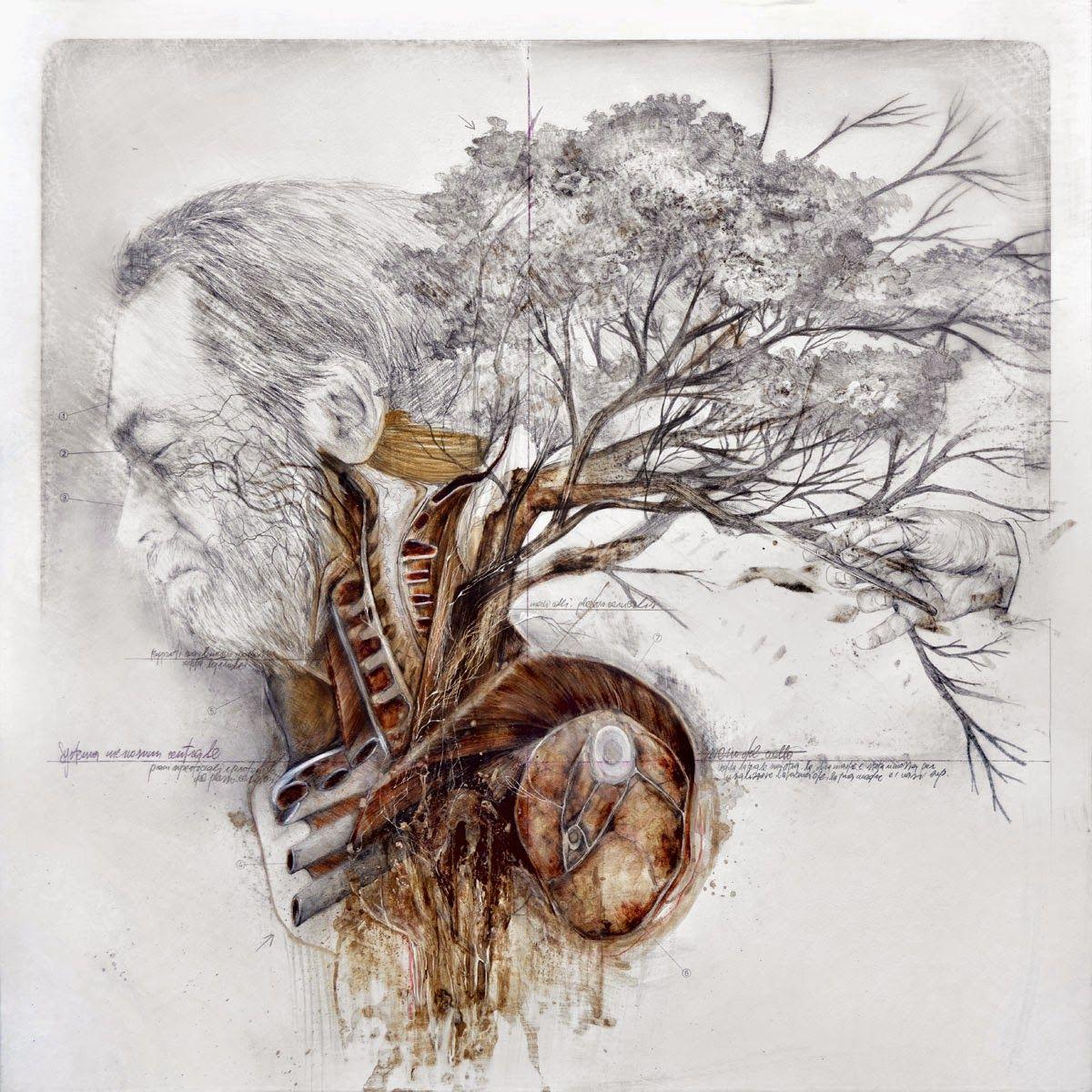 Title: Melancholy of the soil / Malinconia della terra Dim: cm ...