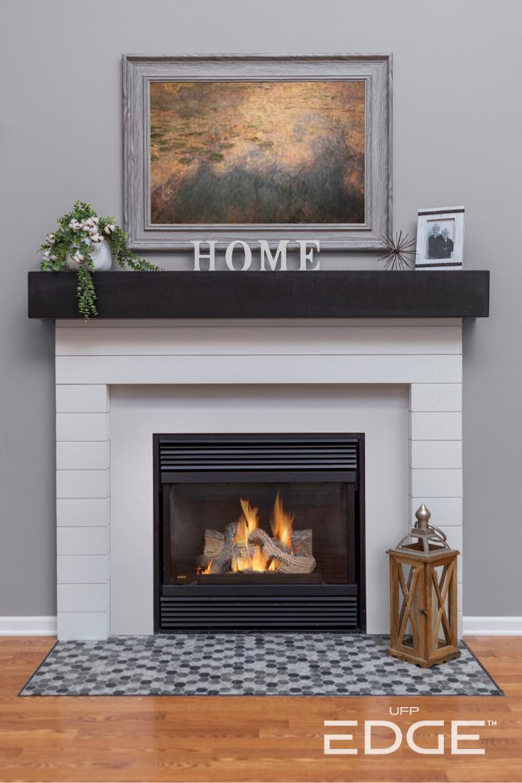 Camino Per La Casa pin su fireplace