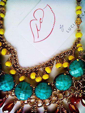 "necklace, ""belinda"" aviable in LC accesorios"
