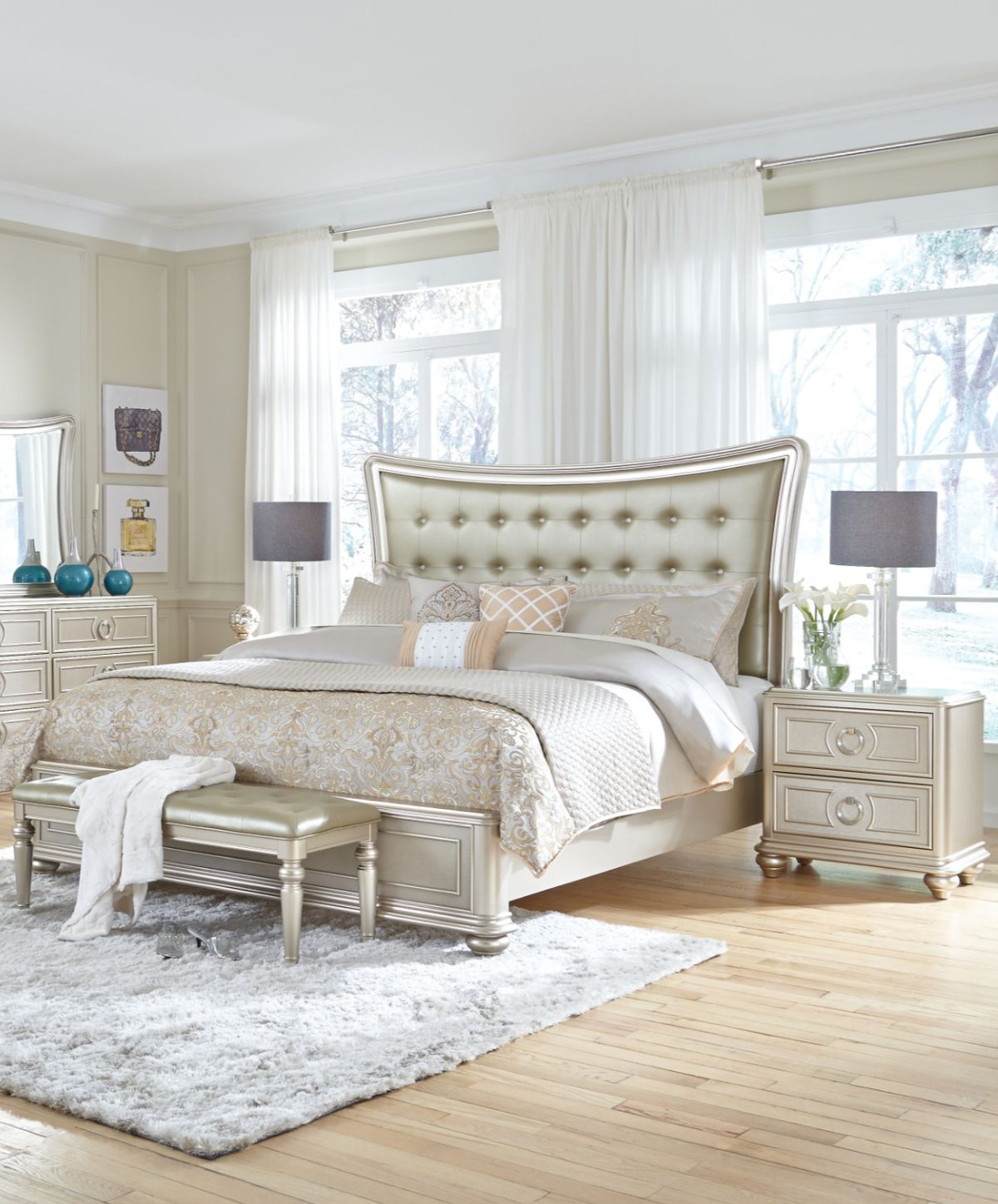 Traditional Bedroom Style From Magnolia Home Mattress Furniture