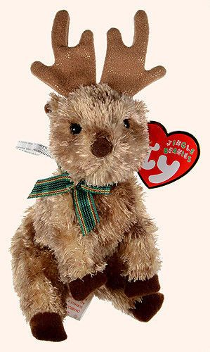 TY DECEMBER the BEAR BEANIE BABY MINT wth MINT TAGS