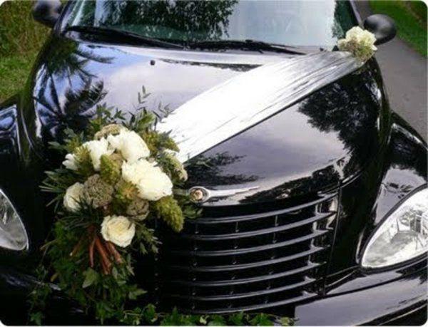 La décoration de voiture de mariage – cest faisable! – Archzine.fr