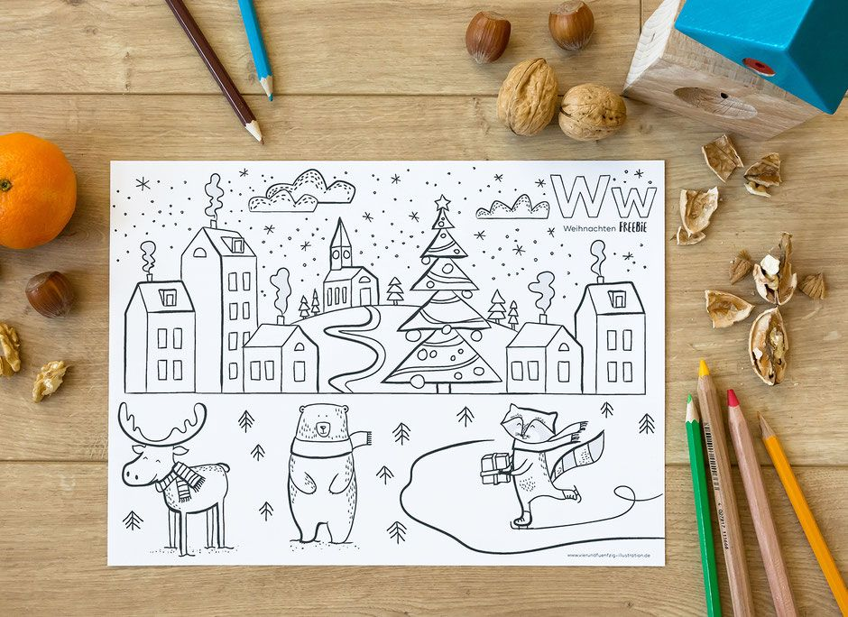 pin von nadine wolf auf weihnachten  ausmalbilder