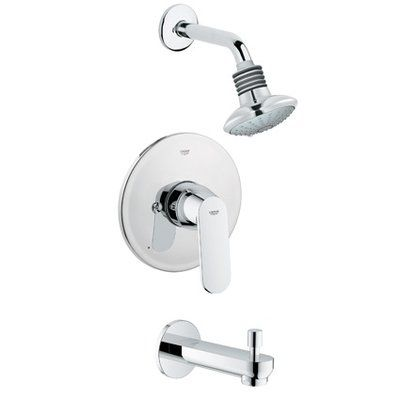 Grohe Eurosmart Cosmopolitan Diverter Tub And Shower Faucet With