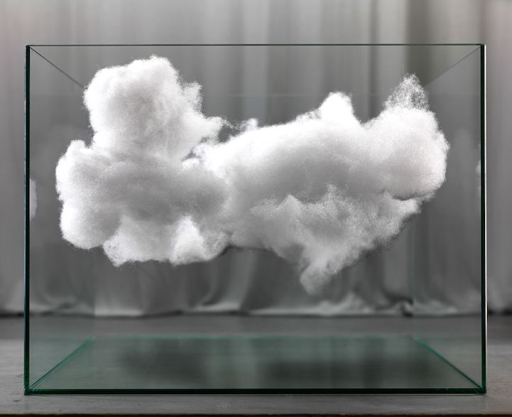 Mysterious Photos Of Fluffy Clouds Encased In Glass By Raffaello