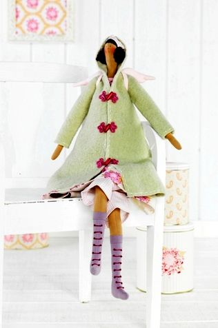 Pattern Tilda Autumn Angel | Dolls & Softies | Pinterest