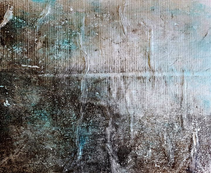 Abruzzo's cliff () - Alessio Mazzarulli - Paintings & Prints Abstract Landscape - ArtPal | ArtPal thumbnail