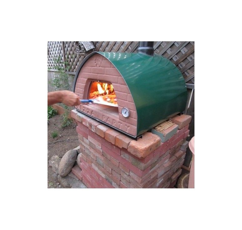 How to build outdoor wood fired pizza oven - Pizza Party ...