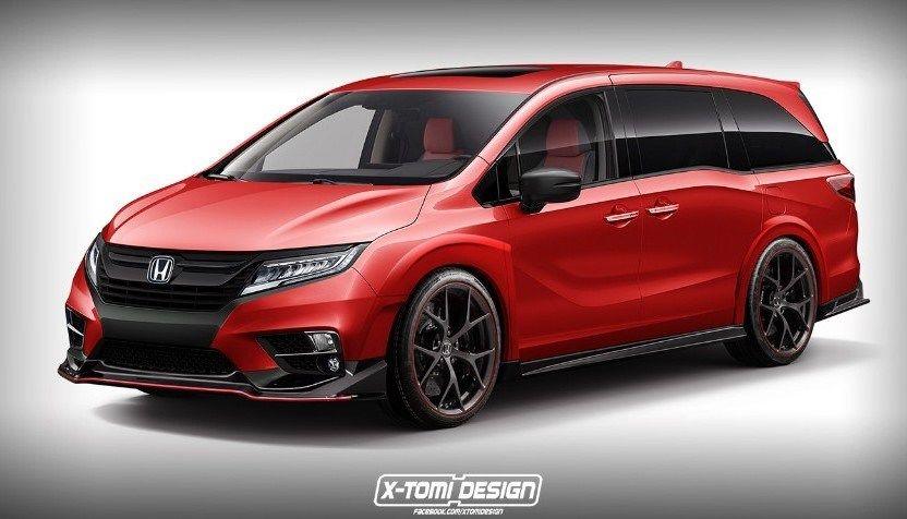2020 Honda Odyssey Type R First Look Honda Odyssey Honda Odyssey Touring Mini Van