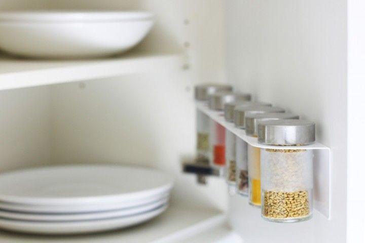 Oberschrank-Küchentür mit Droppar-Gewürzglasregal | Kitchen ...