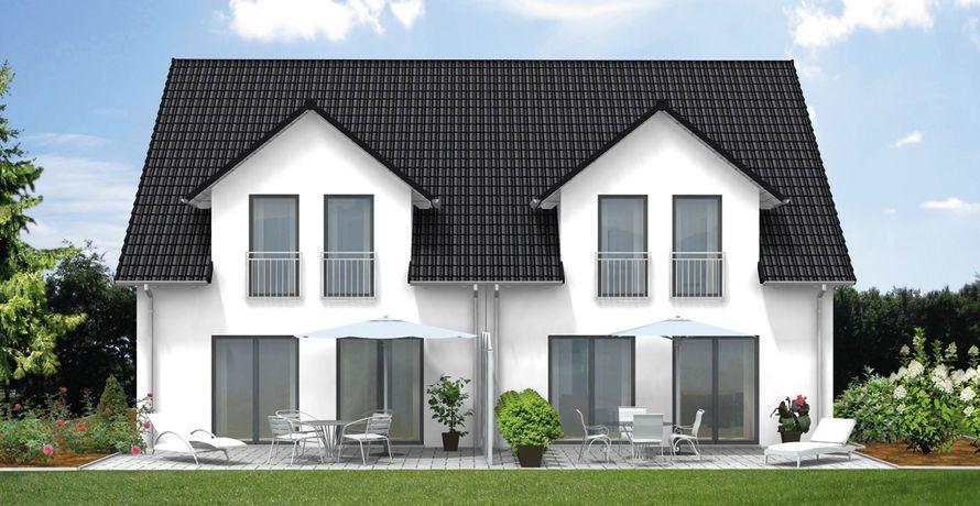 fcn haustyp doppelhaus family110 mit massiven. Black Bedroom Furniture Sets. Home Design Ideas