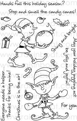 Handy Dandy Helpers 10224 Z Handy Dandy Christmas Stamps Unique Stamps