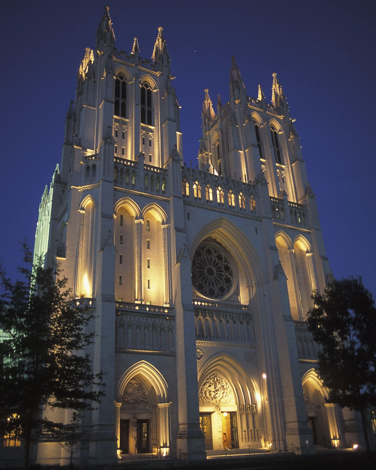 See Photos Of The National Cathedral In Washington Dc