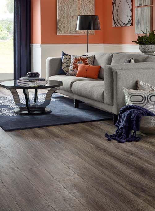 This Pergo Max Premier Heathered Oak Flooring Looks